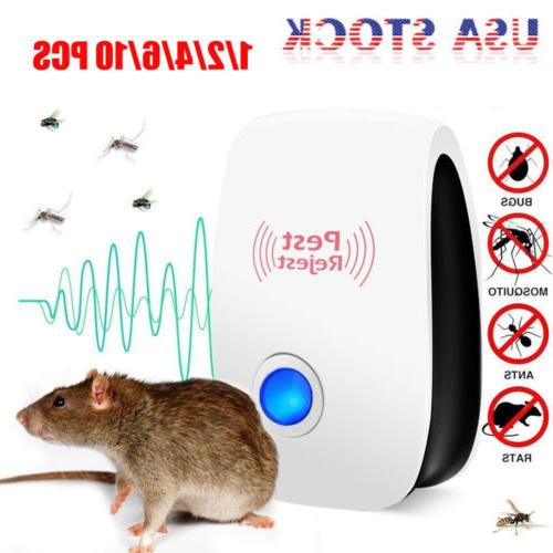 10 pest repeller reject ultrasonic electronic mouse