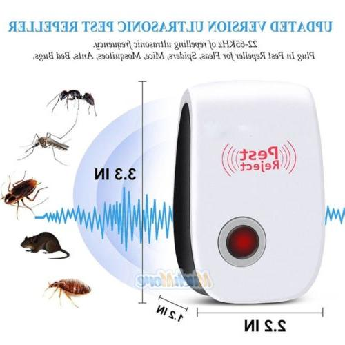10X PEST REPELLER CONTROL RAT COCKROACH ANT FLY FLEA