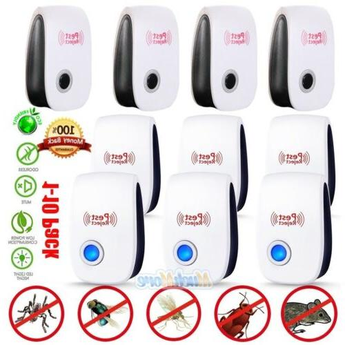10x 2018 electronic ultrasonic pest repeller control