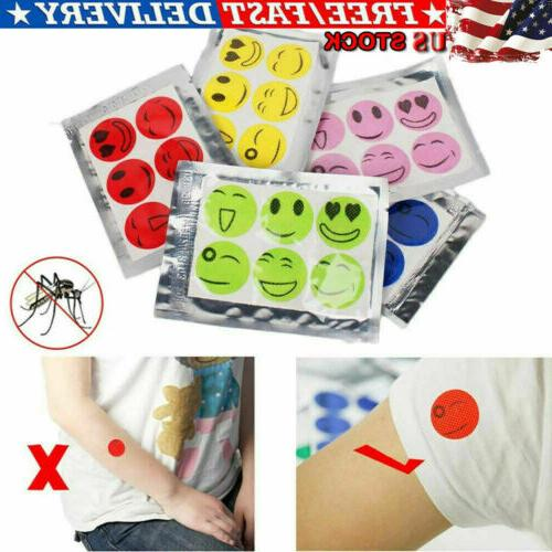 120pcs moskipatch mosquito bugs repellent natural non
