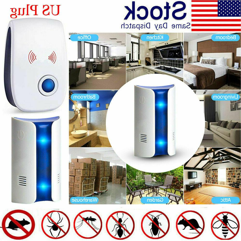 2019 electronic ultrasonic pest repeller plug in