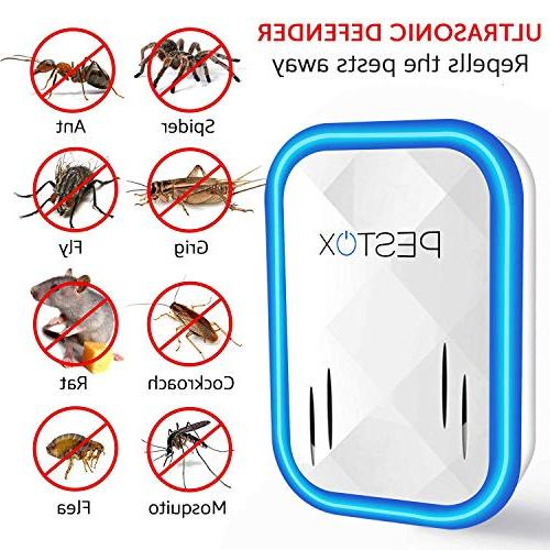 2019 Plug in Electronic Pet Safe Device Electromagnetic Ultrasound Control Mice Rats Mosquitos Spiders Rodents