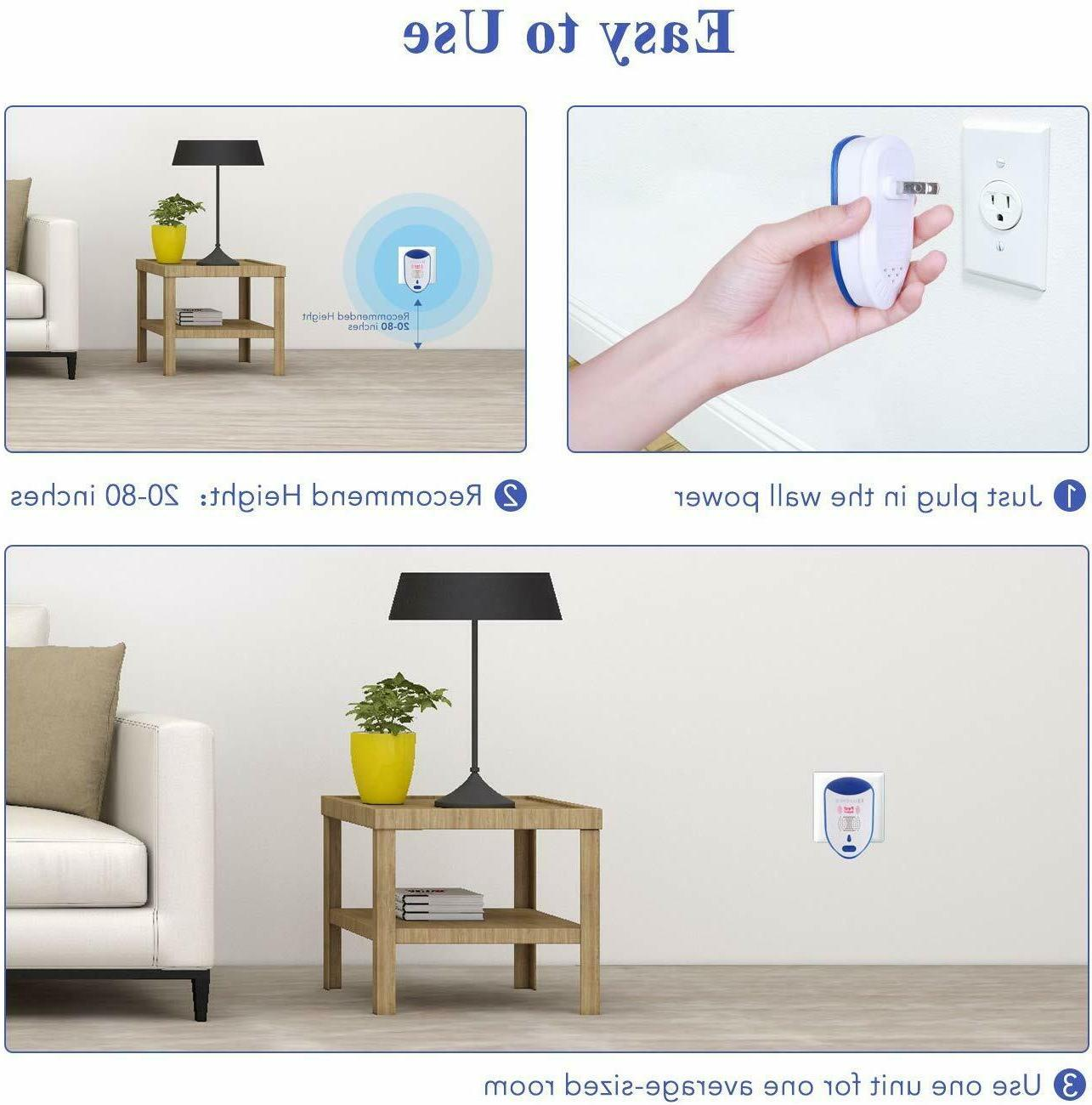 For With Light Pest Repeller