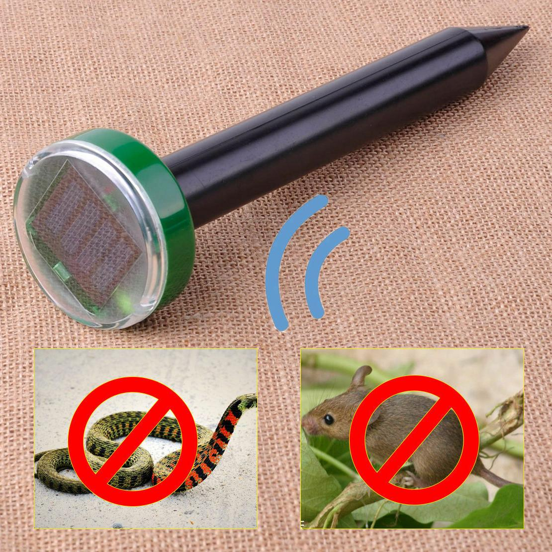 3PCS Solar Ultrasonic Mouse Repellers Repeller Yards