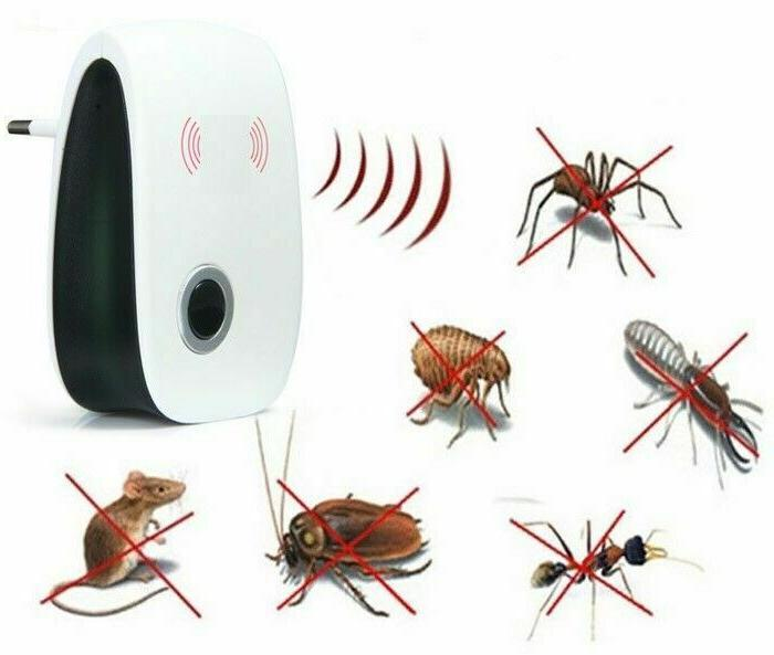 6/4/2x Ultrasonic Electric Insect Rat Rodent