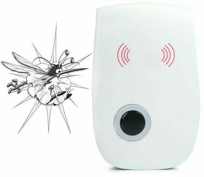 6/4/2x Ultrasonic Repeller Electric Insect Rat Rodent Killer