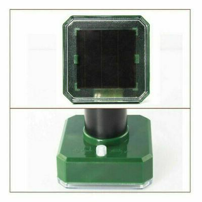 4x Solar Sonic Mouse Pest Rodent Repellent Repeller