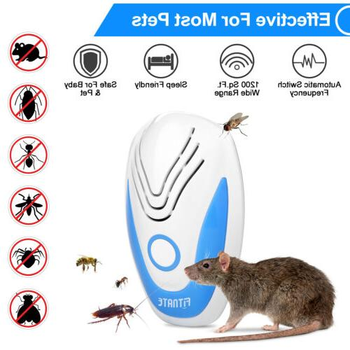 Ultrasonic Pest Repeller Repellent Insect Bug Mosquito Mouse