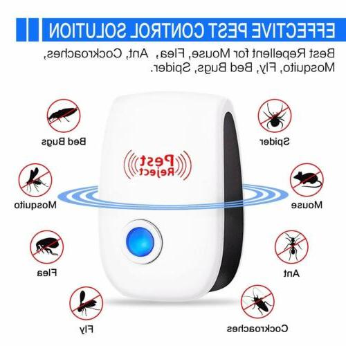 Ultrasonic Electronic Mosquito Repellent Outdoor Fly Bug Ins