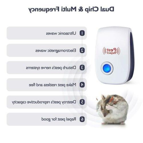 6x Pest Plug in Control Electronic Repellent Mice