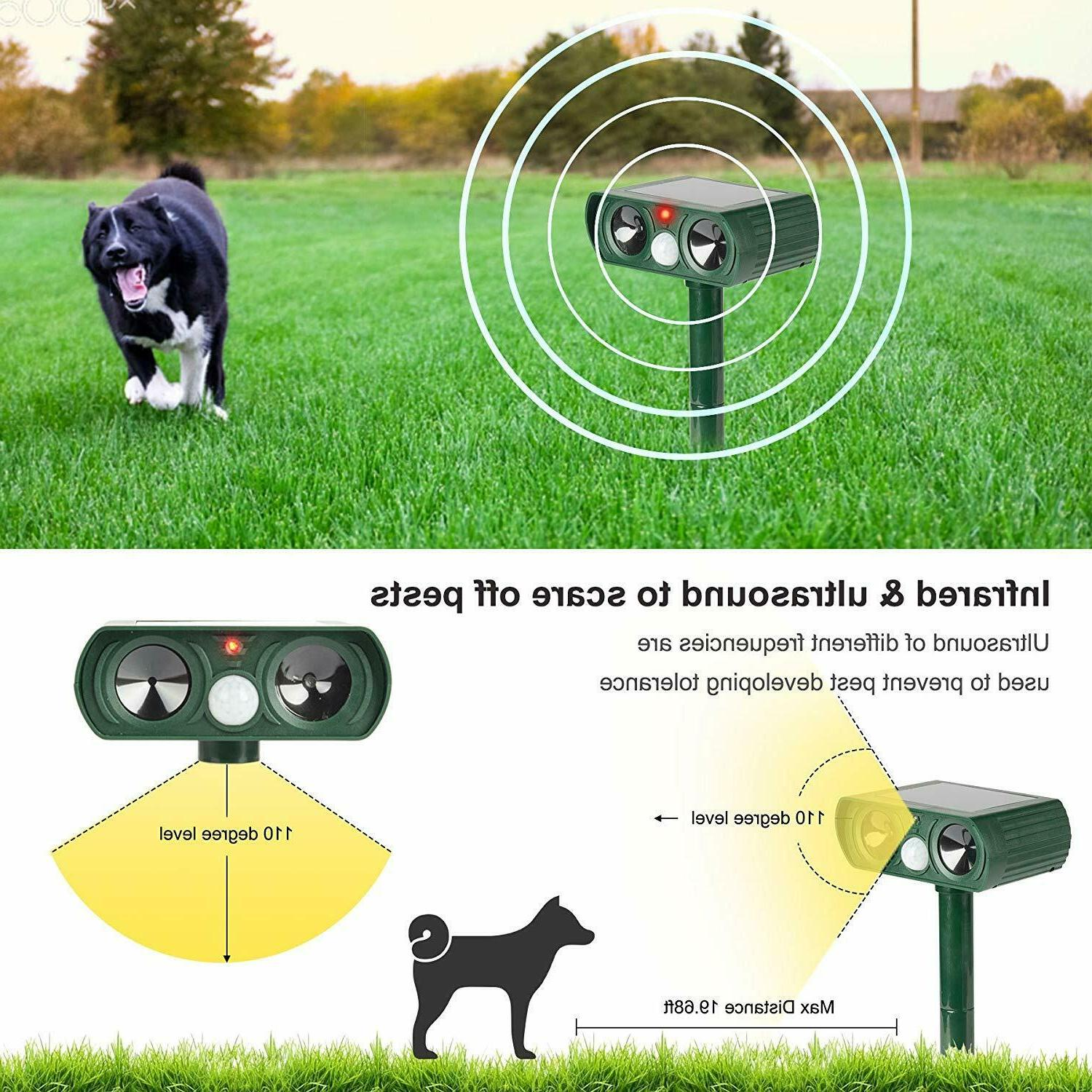 US Animal Repeller Cat Dog Ultrasonic
