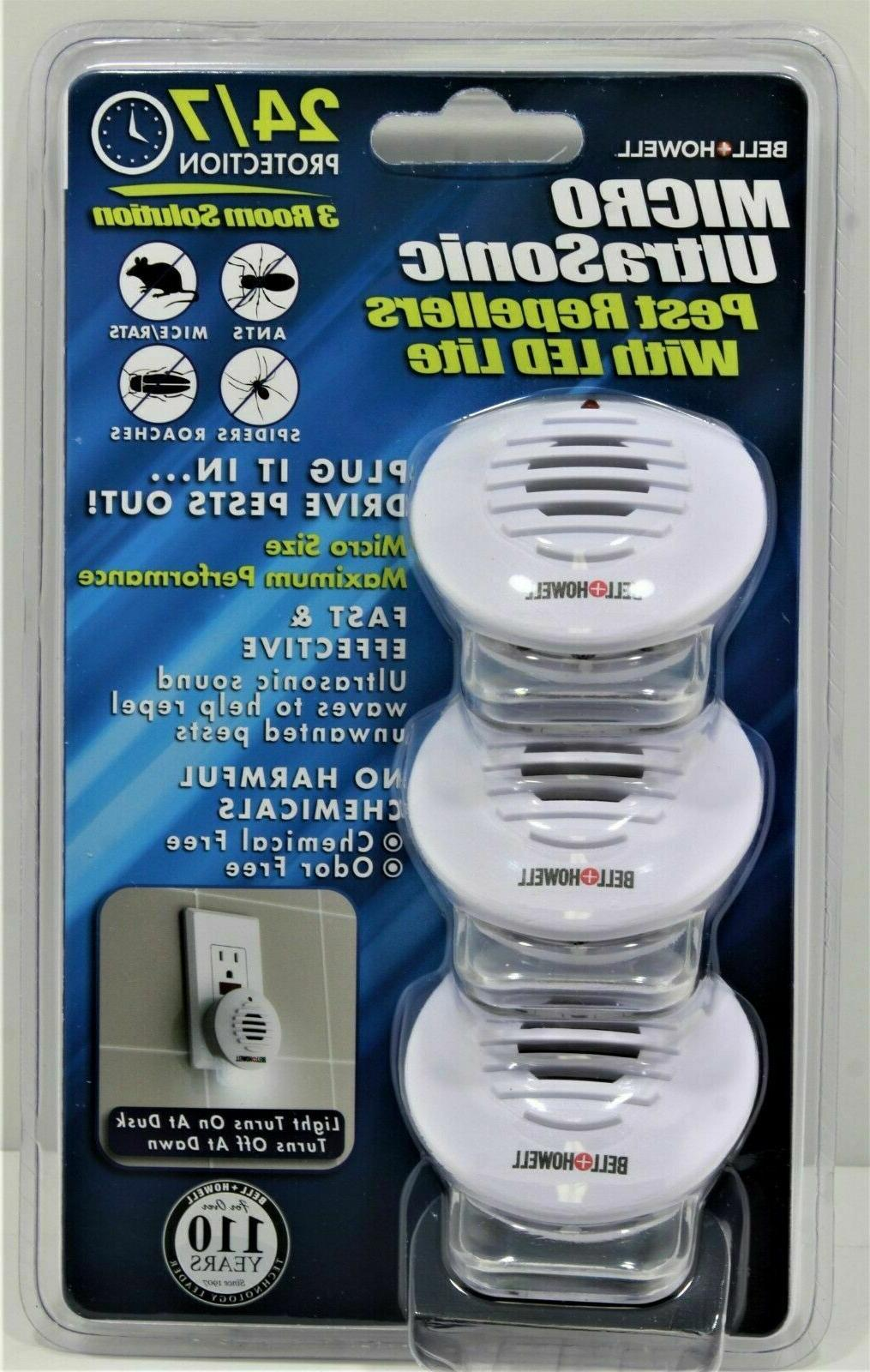 bell howell micro ultrasonic pest repellers w