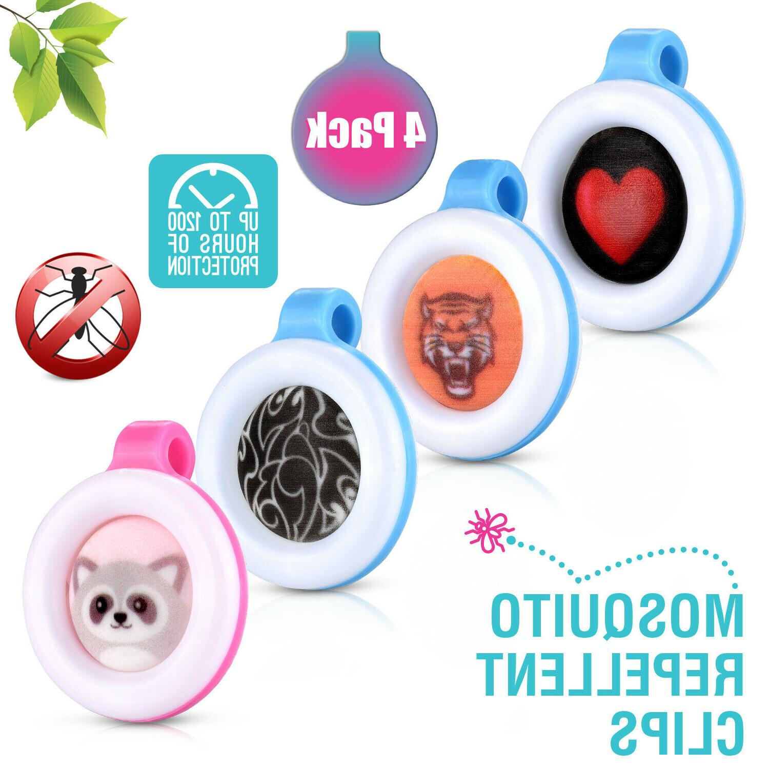 clip on mosquito bug insect repellent 4