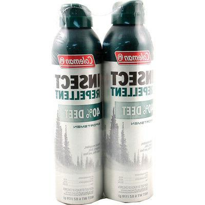 Coleman 40 Percent DEET Insect 40%, 6 Ounce