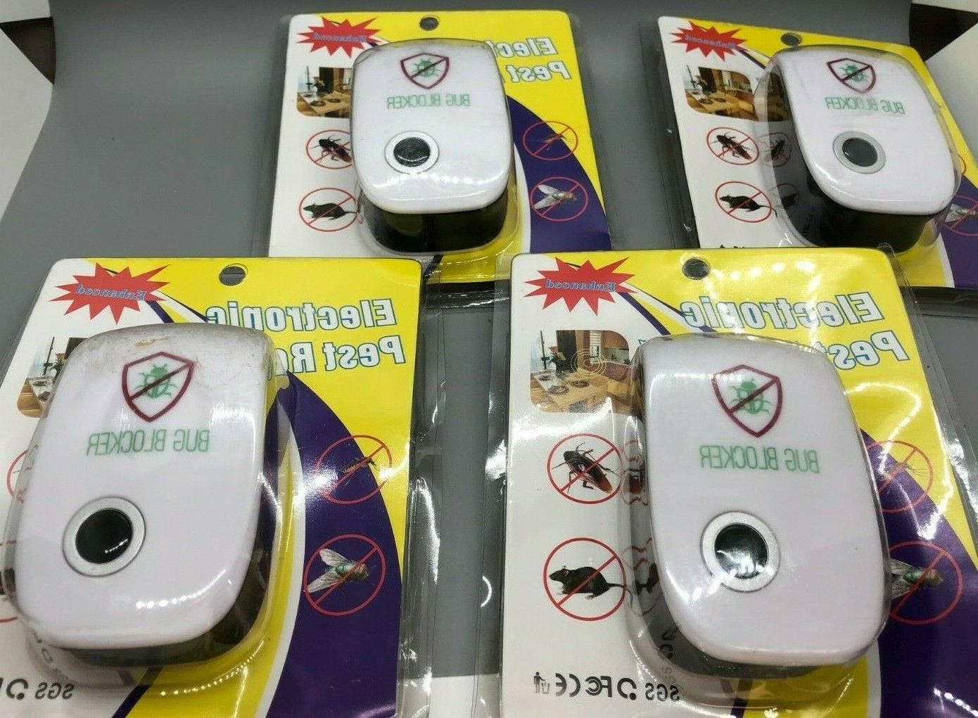 electronic pest repeller ultrasonic mosquito pack of