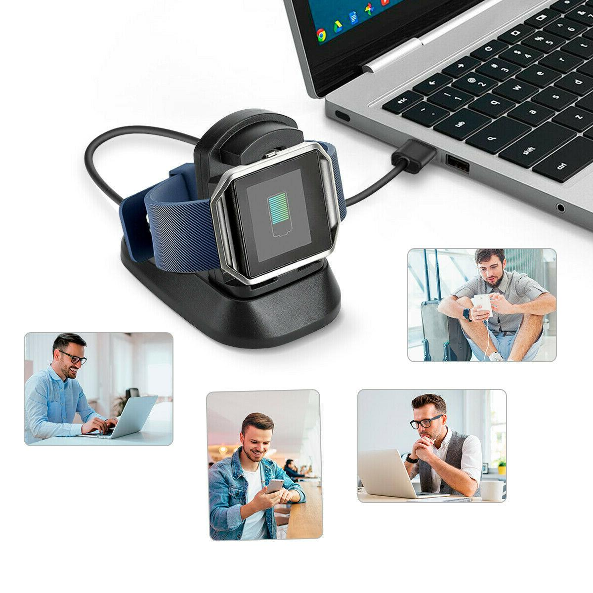For Fitbit Ionic Watch USB Cable Holder