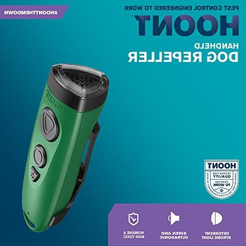 Hoont Dog and Flashlight/Powerful + Dog and Stopper + Dog Device/Protect from Aggressive Dogs +
