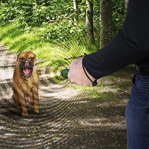 Hoont Dog Repellent and Trainer LED Flashlight/Powerful Dog and Stopper + Device/Protect from Aggressive Dogs