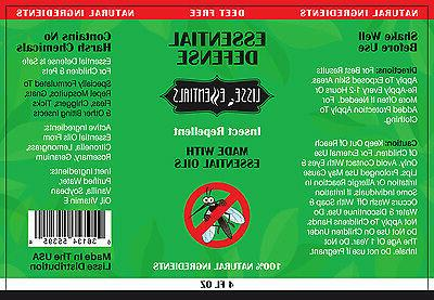 100% Natural Essential DEET FREE Mosquito & Bug 4