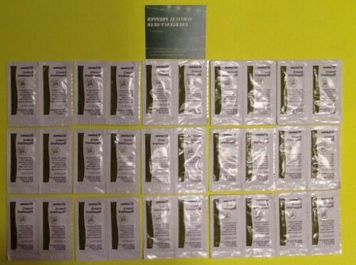 lot 30 insect repellent packets survival camp