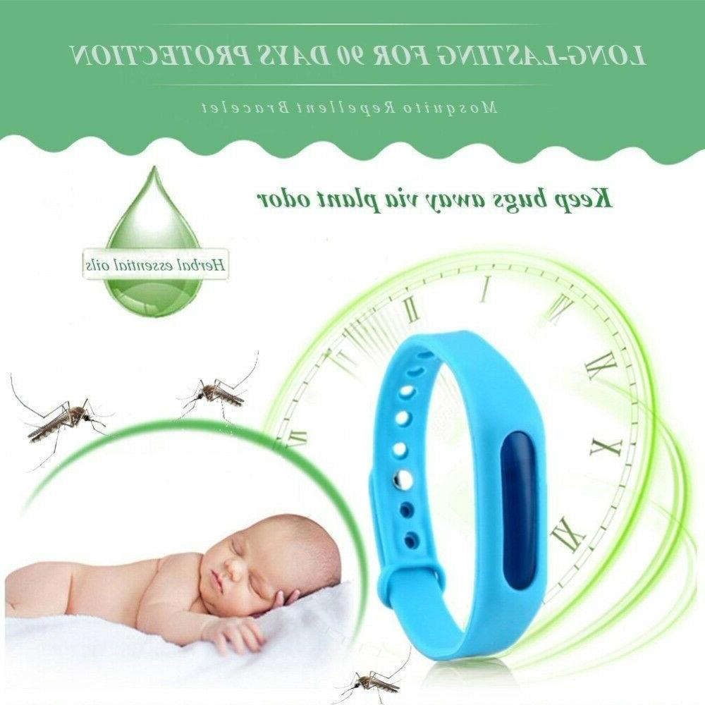 Mosquito Bracelets, Bugs Repeller Pack 5