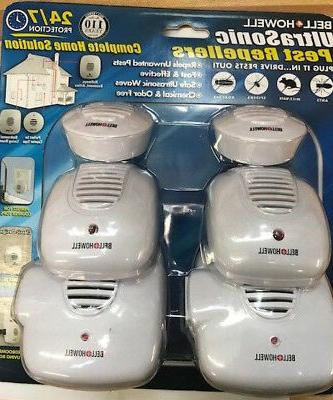 multi ultrasonic pest repeller complete
