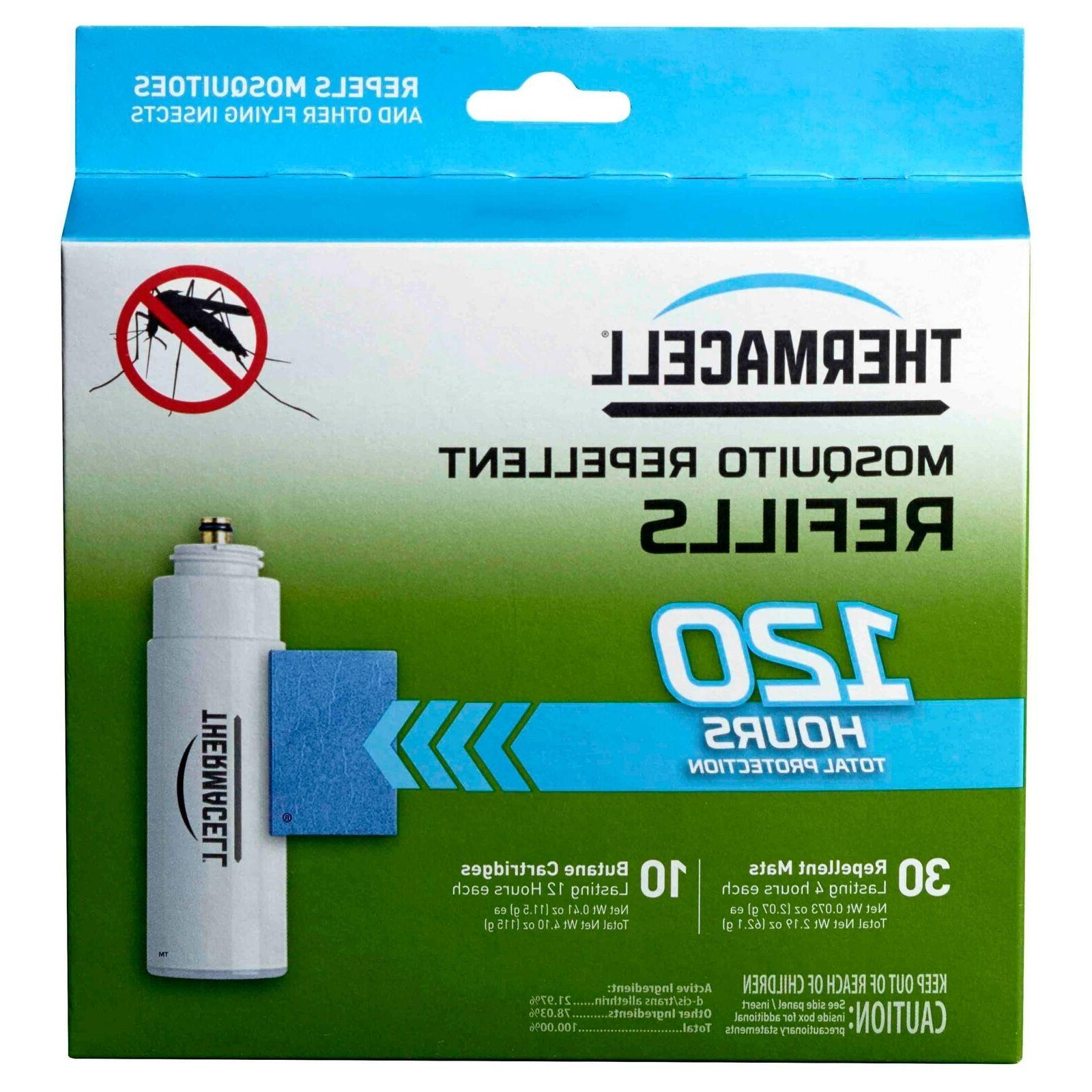 new mosquito repeller refill 120 hour mega