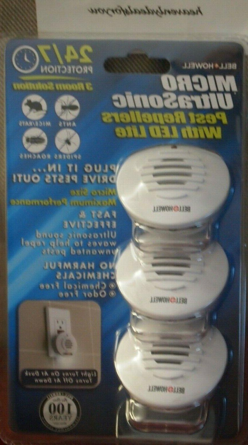 nip sealed bell howell micro ultrasonic pest