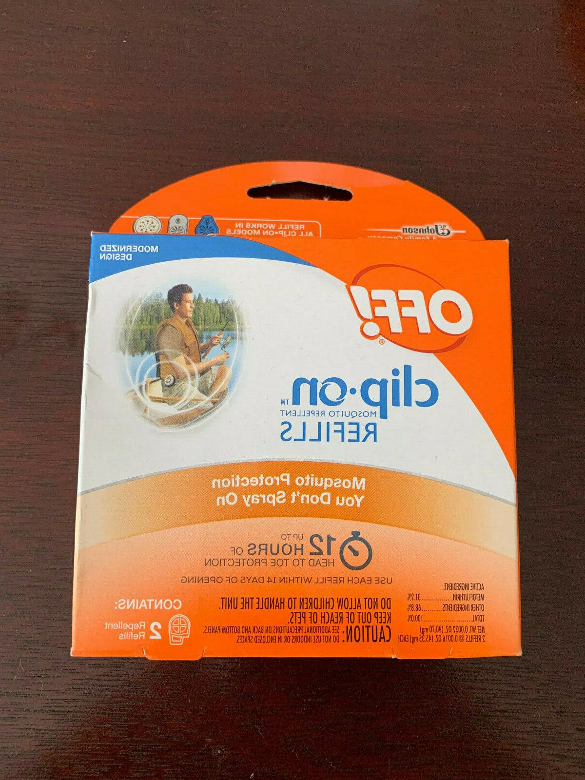 off clip on refills mosquito repellent