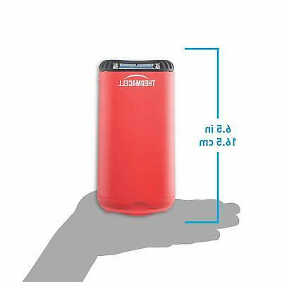 Thermacell Shield Repeller, Fiesta Red; to
