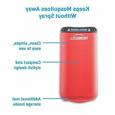 Thermacell Patio Shield Repeller, Fiesta Red; to Highly Effec