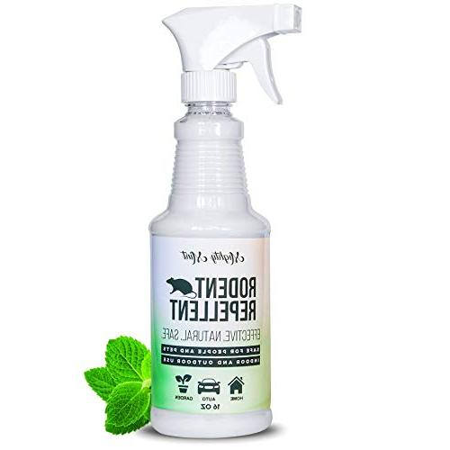 peppermint oil rodent repellent