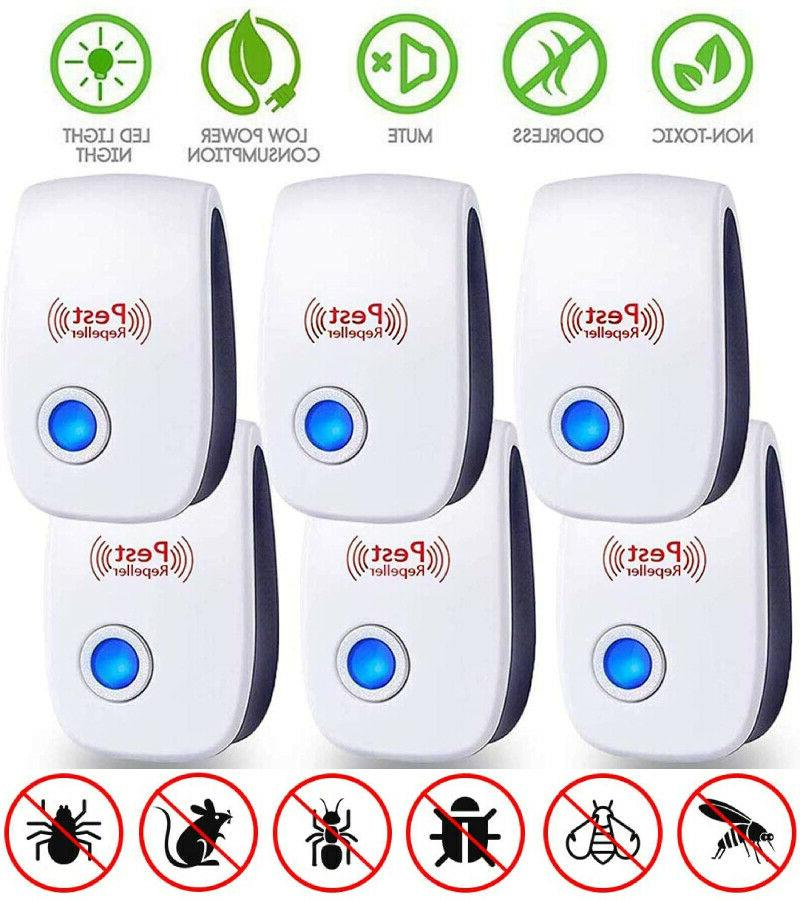 pro ultrasonic repeller home bed bug mites