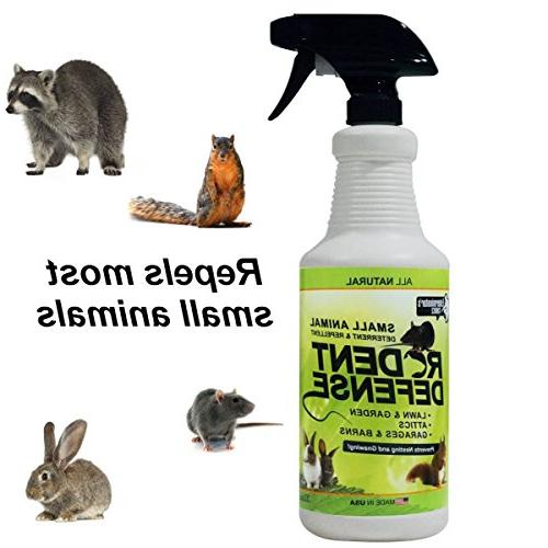 rodent defense animal repellent deterrent