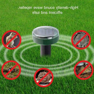 4X Sonic Mouse Rodent Mosquito Repellent Yard