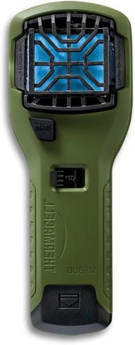 thermacell mr300 portable mosquito repeller olive green