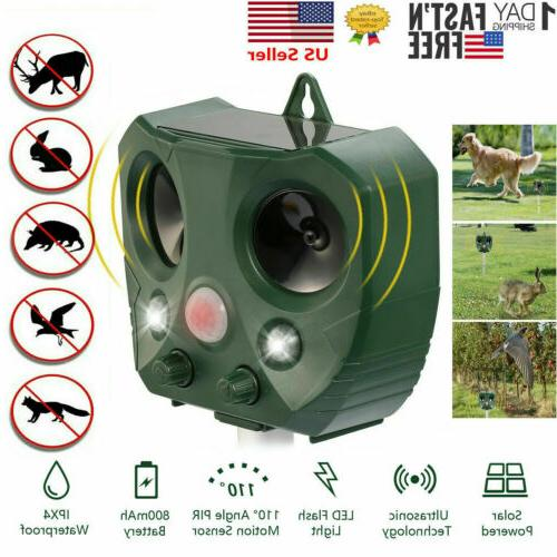ultrasonic animal repeller outdoor pest control