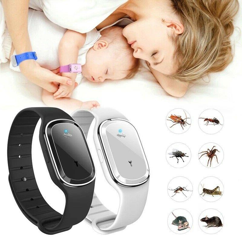 Ultrasonic Anti Insect Pest Bugs Repellent Wrist Band