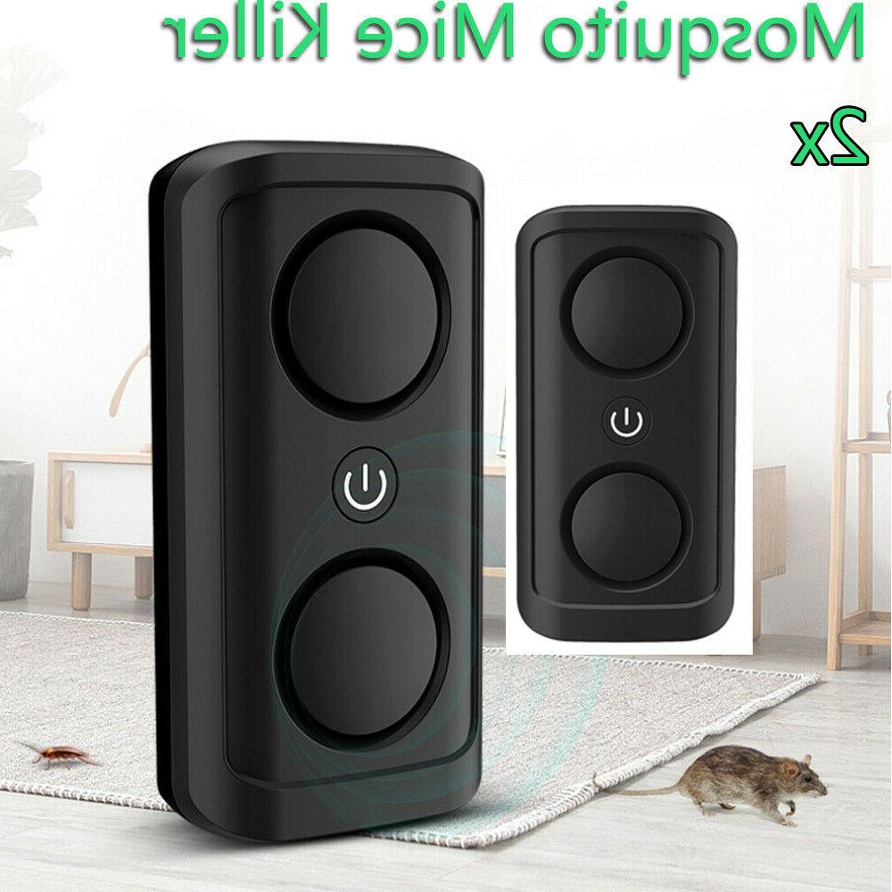 ultrasonic electronic insect rat pest mouse repeller