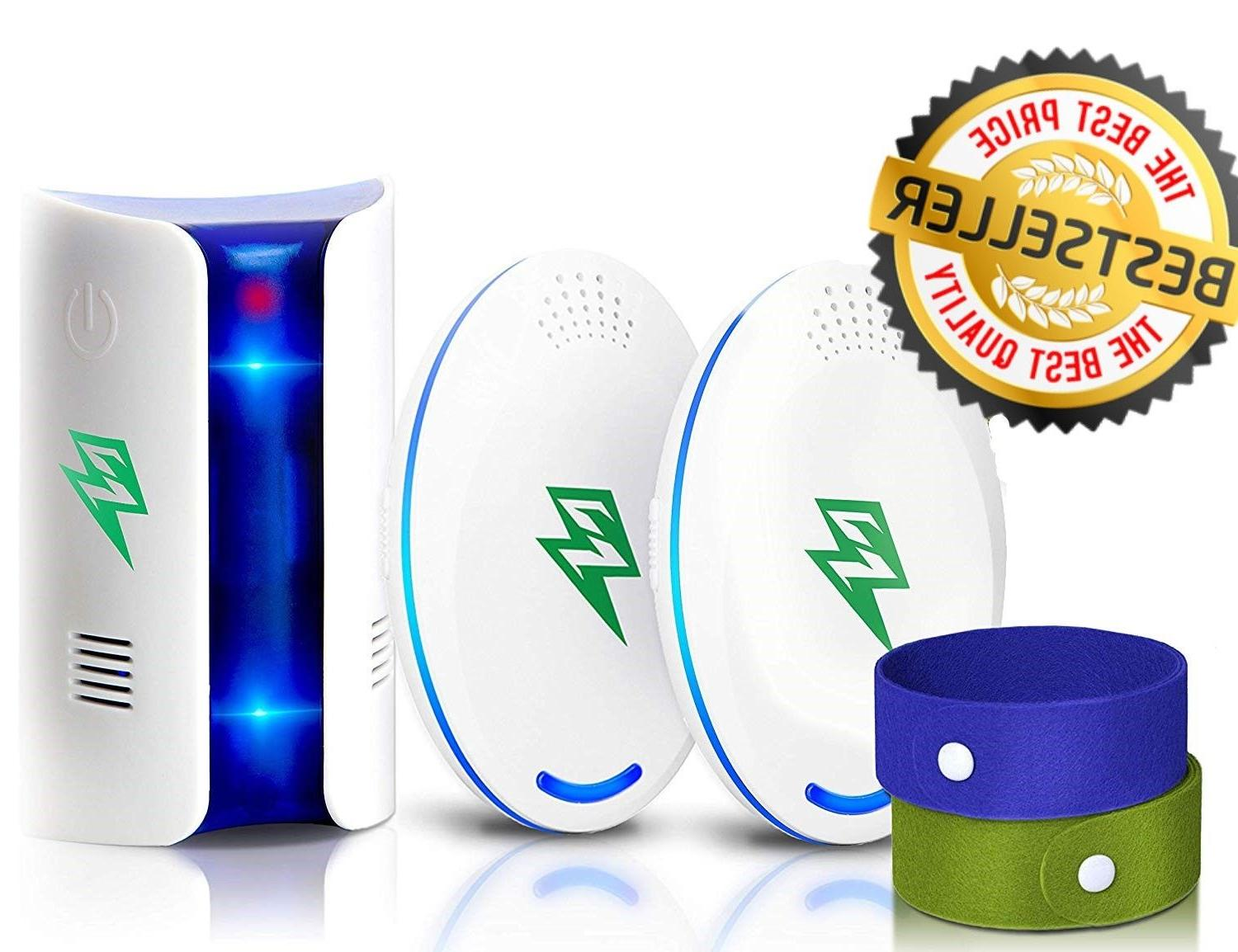 ultrasonic pest repeller bug mice rat spider