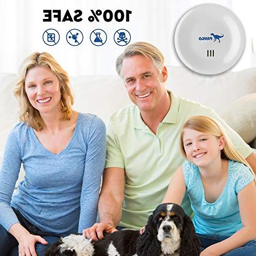 Ultrasonic Repellent - Electronic Pest Control Plug in Home Repeller of Mosquitos, Insects, Mice,