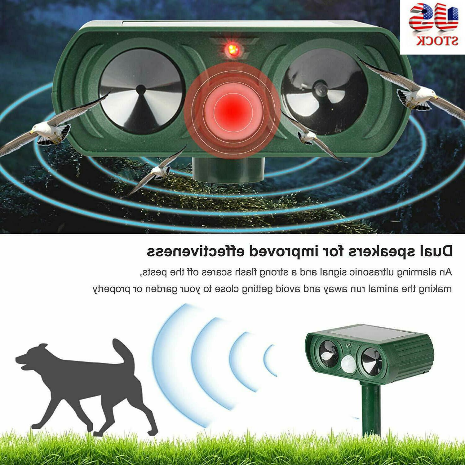 US Animal Repeller Cat Solar