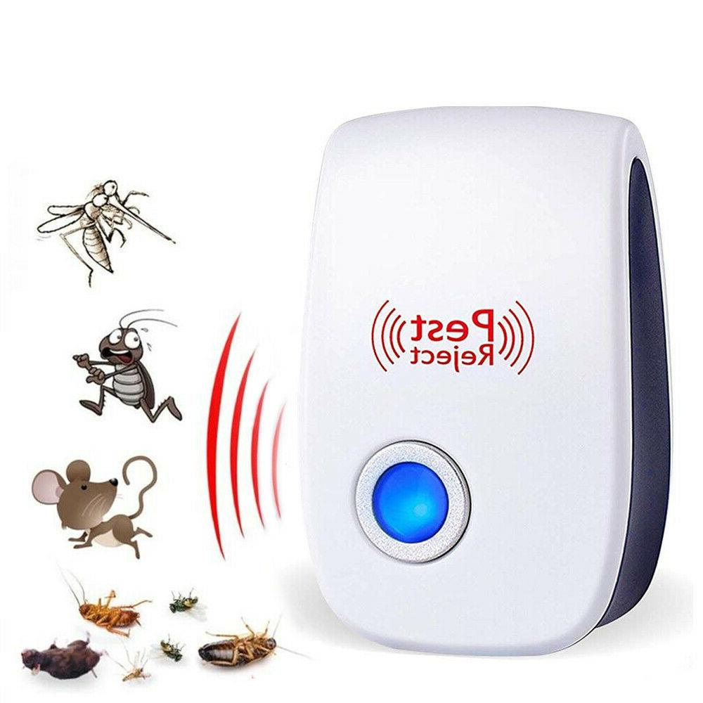 USA 6 PACK Ultrasonic Pest Repeller Insect Mosquito Cockroach