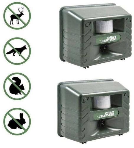 yard sentinel 2 pack outdoor ultrasonic animal