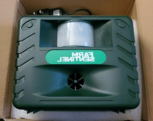 yard sentinel ultrasonic outdoor animal pest repellent