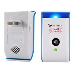 LIGHTSMAX  Pest Control Ultrasonic Repeller for Mosquitoes,
