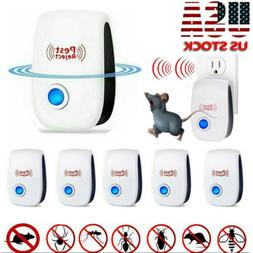 Lot Upgrade Pest Reject Ultrasonic Repeller Bed Bug Mite Spi
