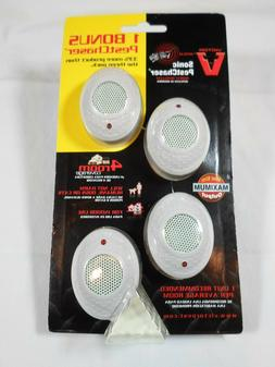 Victor M754 Mini PestChaser Ultrasonic Rodent Repellent, 4-P