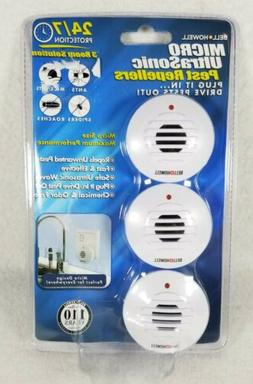 NEW sealed Bell & Howell MICRO Size UltraSonic Pest Bug Cont