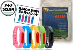 Mosquito Repellent Bracelets, Insect Bugs Repeller Wristband